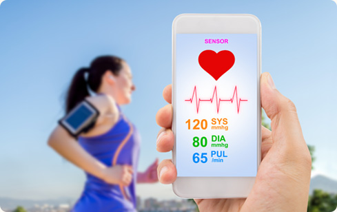Biosensors such as wearable devices used to measure heart rates